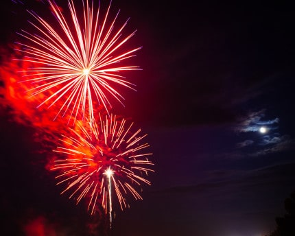 New years fireworks by sparkfly photography