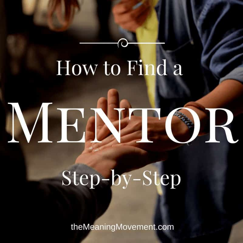 how to find a mentor - step-by-step